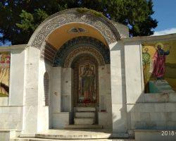 προσκύνημα στον τάφο του Οσίου Παϊσίου